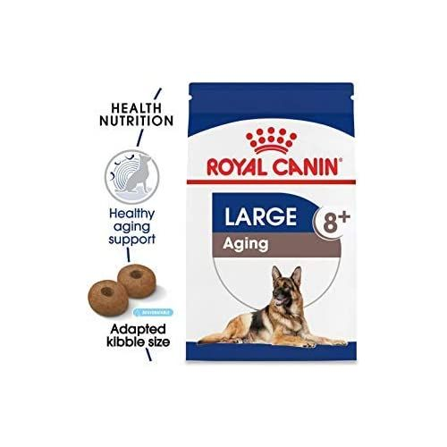 Royal Canin Size Health Nutrition Large Aging 8 Dry Dog Food 30 Lb
