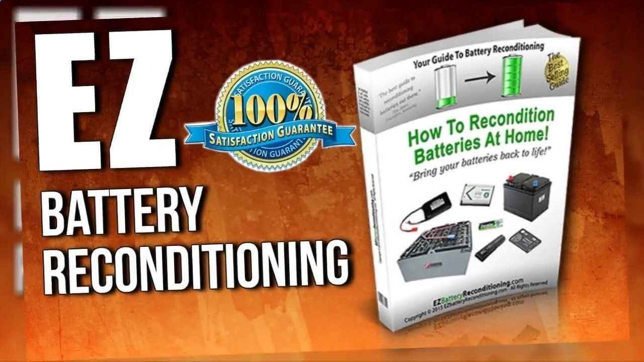 EZ Battery Reconditioning Review How to recondition car