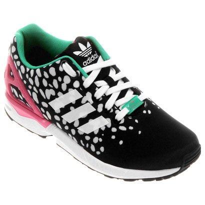 adidas zx flux nere e rosa