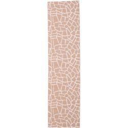 Photo of Terrazzo – rust / pink carpet 70×350 Modern, rug Rugvista