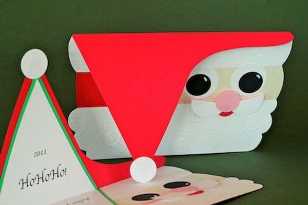 hacer tarjeta navidad oaoa noel - Como Hacer Una Postal De Navidad