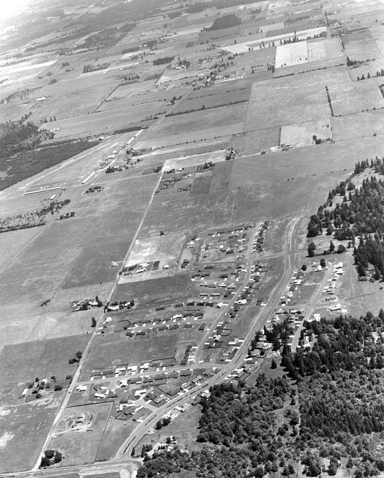 Cascade Park Subdivision July 16 1974 Cascade Park Vancouver