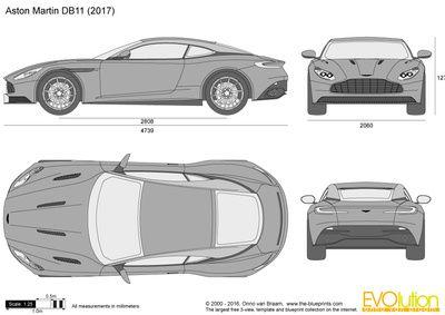 Vector Drawing Aston Martin Db11 Aston Martin Db11 Aston Martin Aston