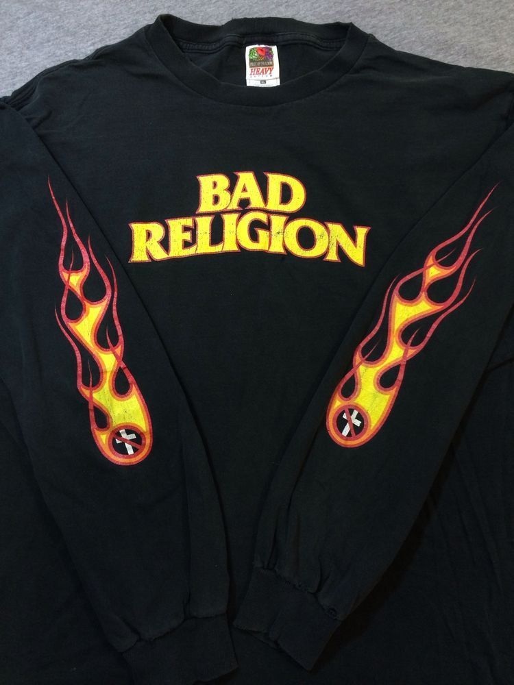 Bad Religion Shirt Vintage The New America Long Sleeve