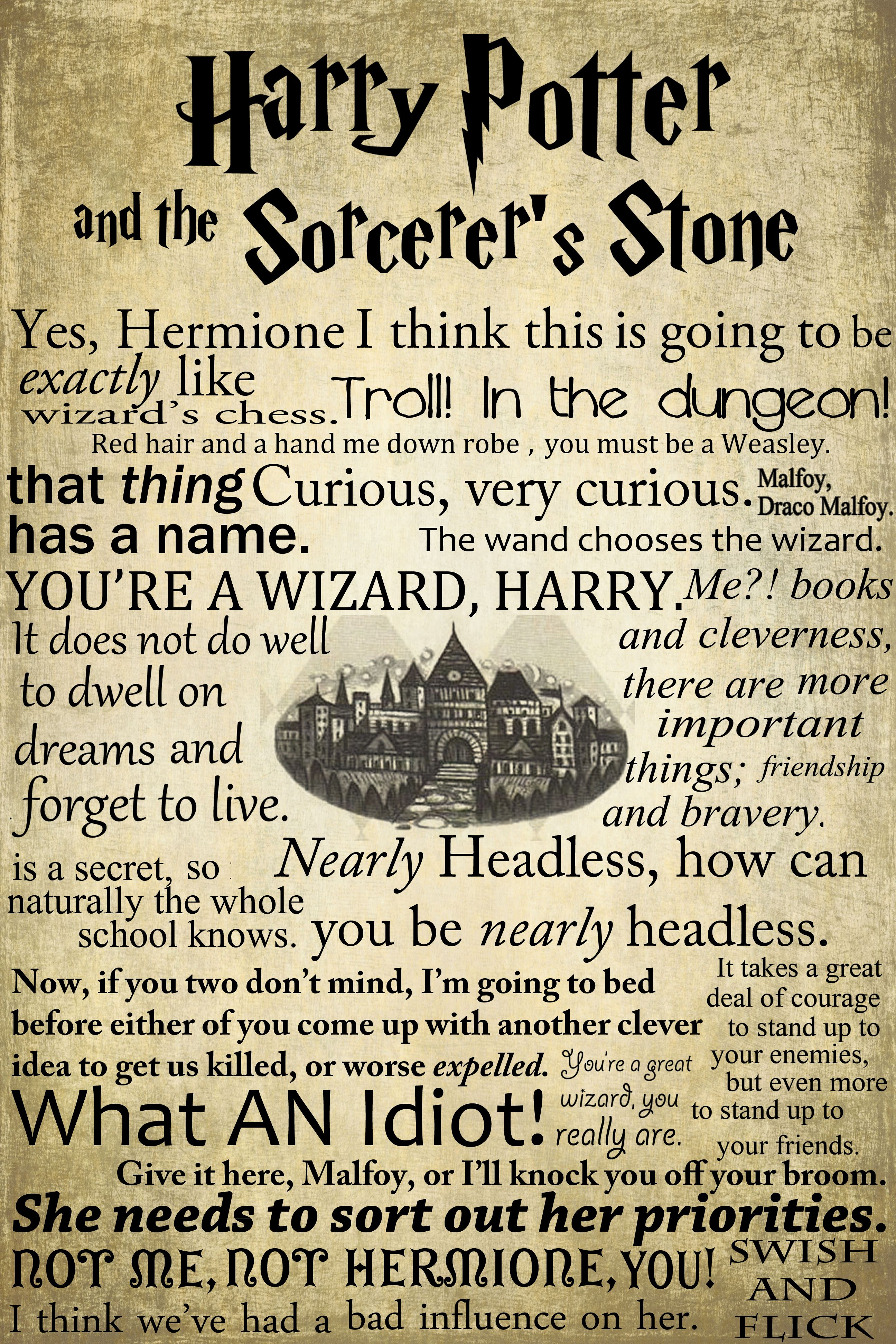 Harry Potter Book Kickass ~ Stylish posters with harry potter quotes pictures