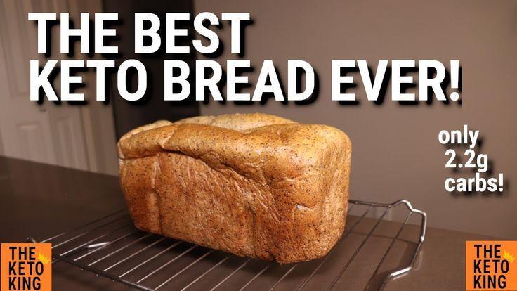 The Keto King Low Carb Bread Video Keto Bread Carb Keto King Video Best Keto Bread