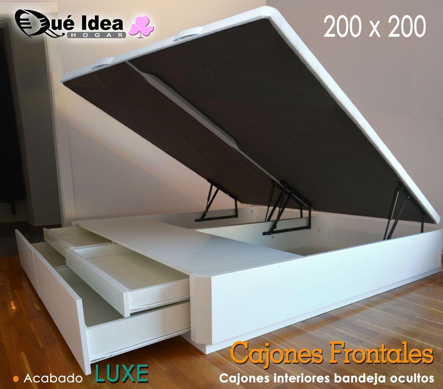 canape dos cajones en los pies de la cama. Black Bedroom Furniture Sets. Home Design Ideas