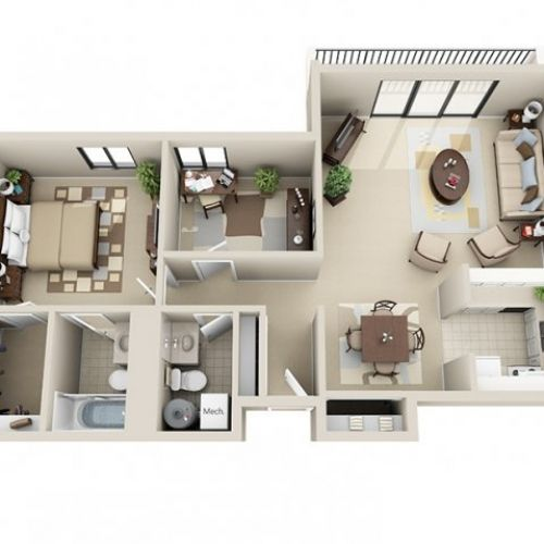 Viewpointe Apartments 616 949 2760 Apartment Floor Plans Small House Layout One Bedroom Apartment