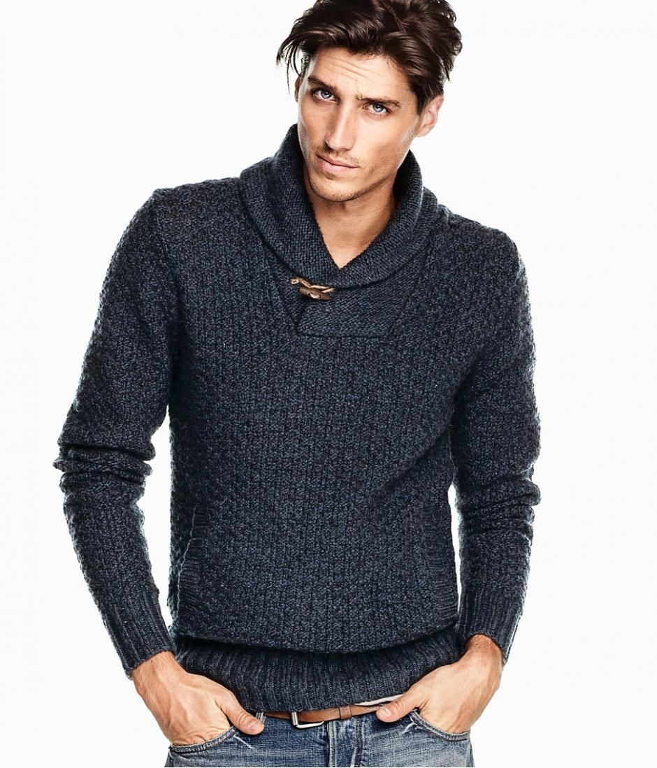 1000+ images about Men sweater fashion on Pinterest