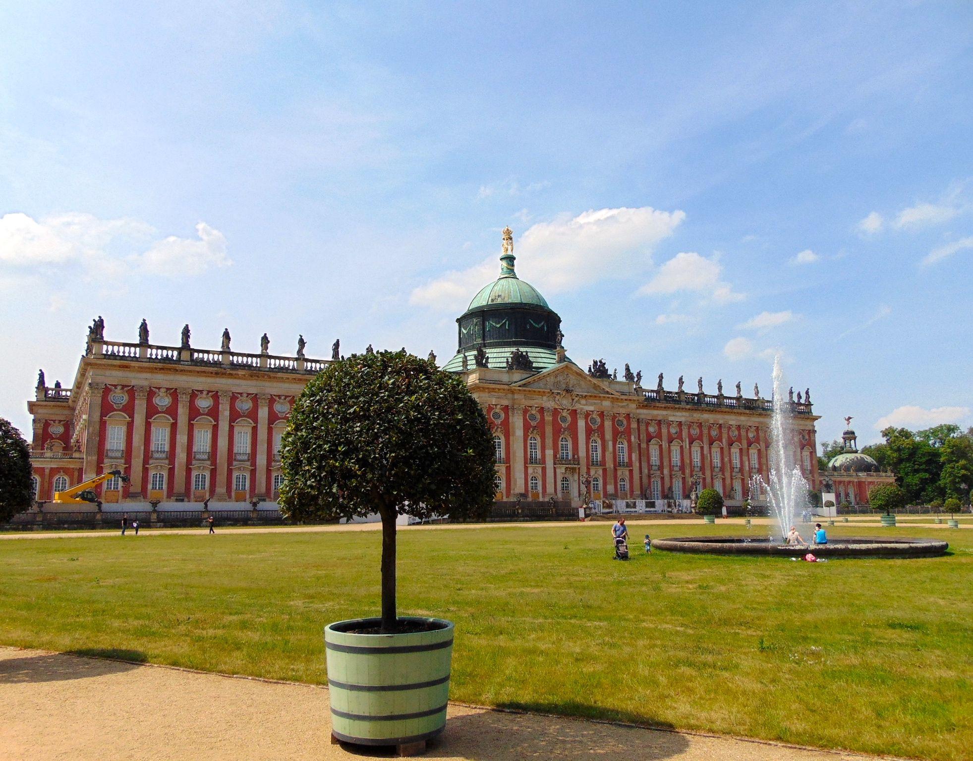 Neues Palais Park Sanssouci Potsdam Germany Germany Poland Germany Taj Mahal