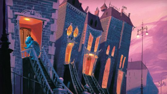 Visual Development from Monsters Inc  - disney concepts & stuff