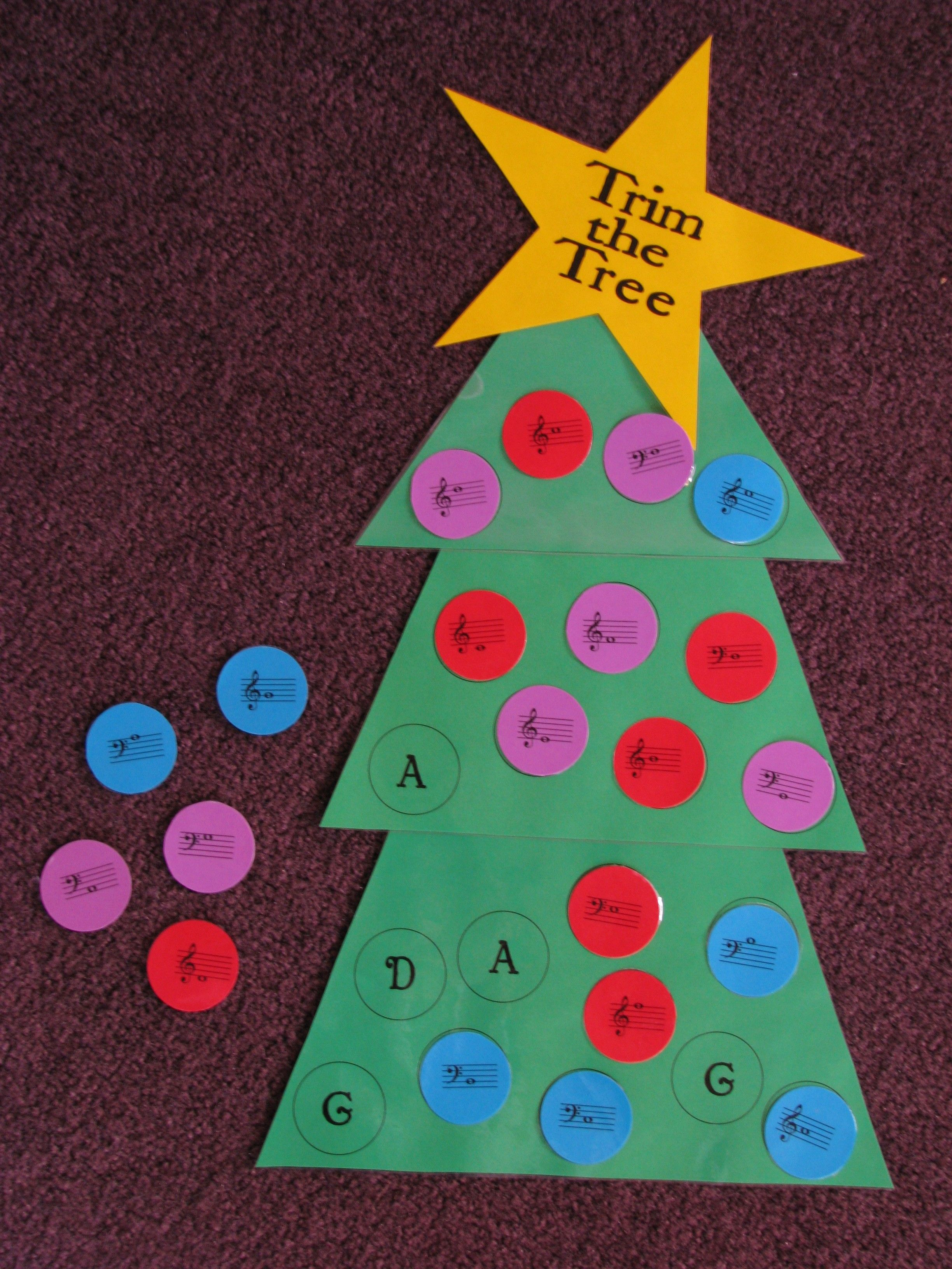 Trim The Tree Game Could Be A Great Group Activity Spin Off Light The Menorah Music Classroom Activities Christmas Music Elementary Music