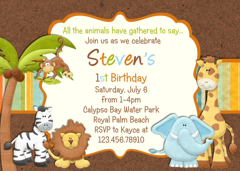 Jungle birthday invitations buscar con google invitaciones jungle birthday invitations buscar con google stopboris Image collections