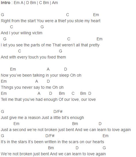 Adele - Never Gonna Leave You Chords | songs | Pinterest | Adele