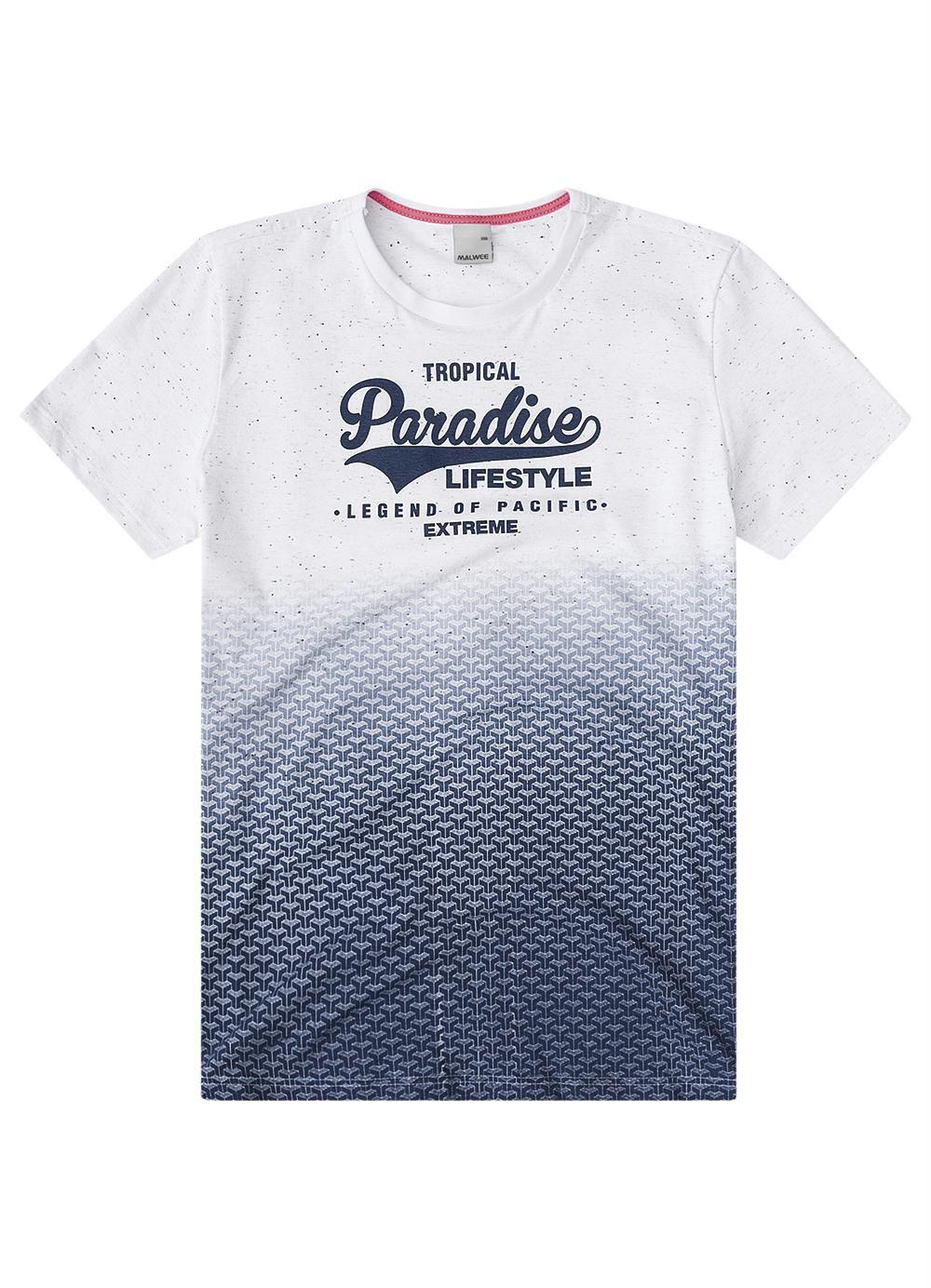 717e31a0e Camiseta Slim Branco Malwee - Malwee Adulto