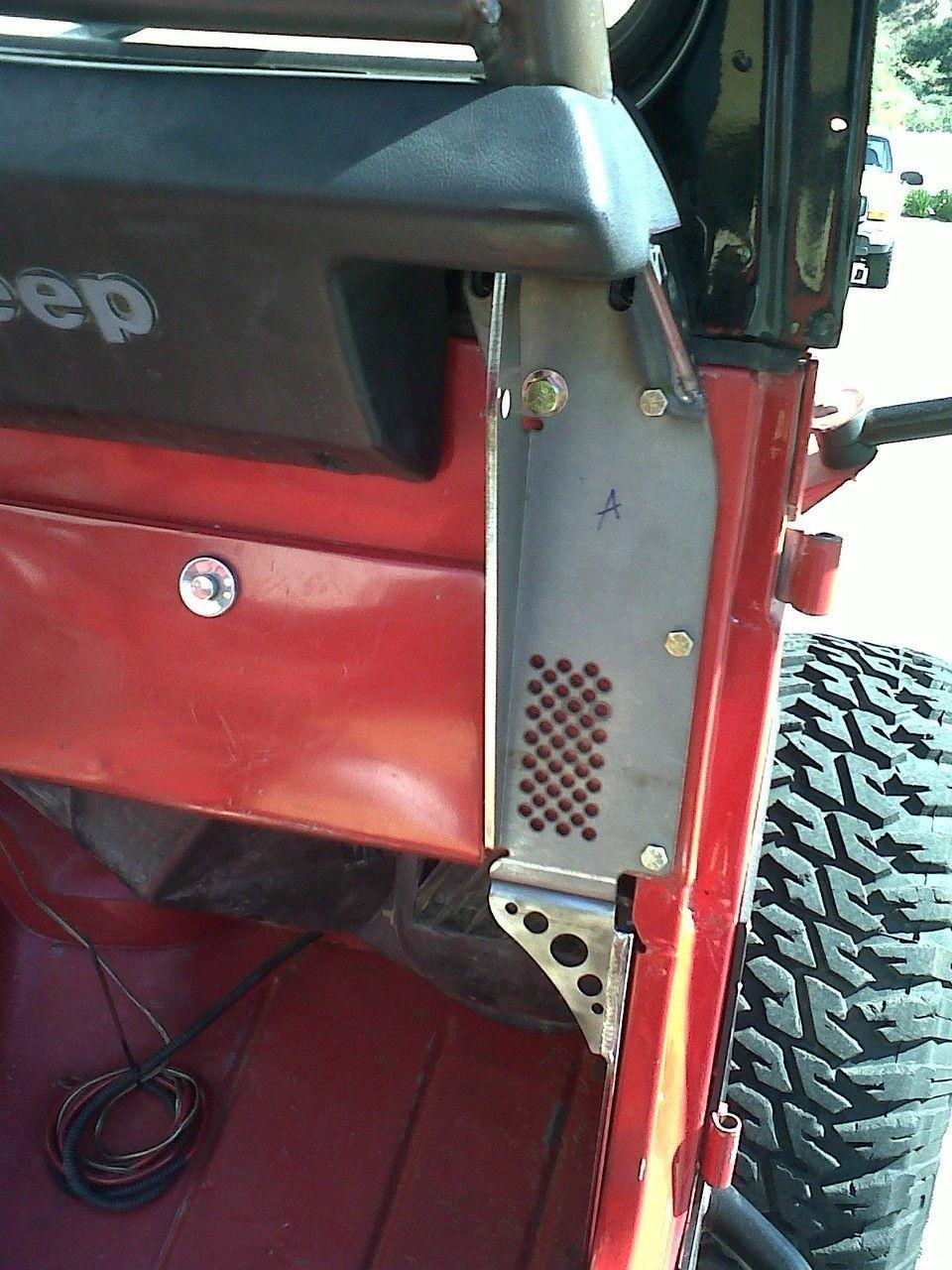Cj Cage Stanchions Jeep Cj Jeep Jeep Garage