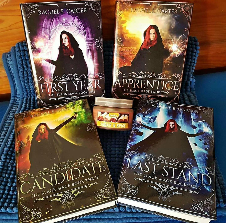 The Black Mage Series  Magic Romance War #fantasy #youngadult #