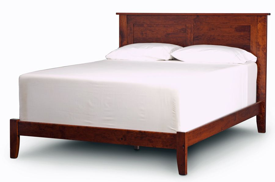 Shenandoah Bed in Solid Character Cherry Wood - Choose Wood, Color ...
