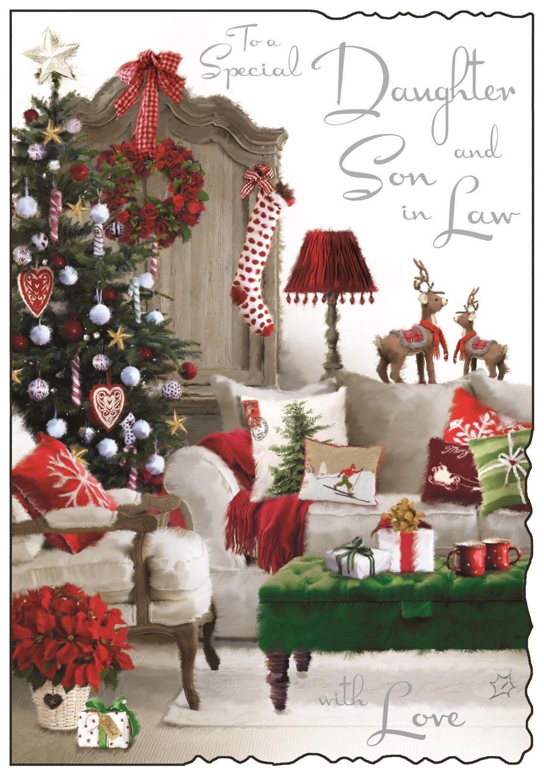 Jonny Javelin Daughter & SoninLaw Christmas Card Xmas