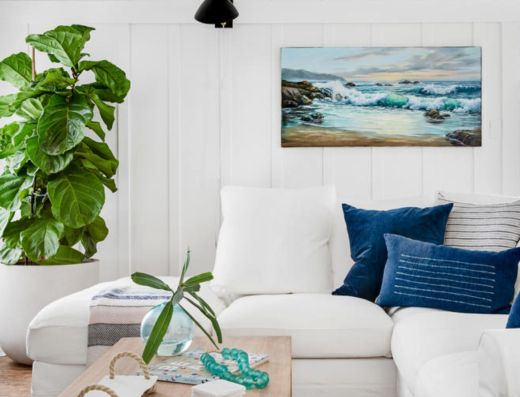 Bohemian Coastal Beach Cottage Decor Style #beachcottageideas