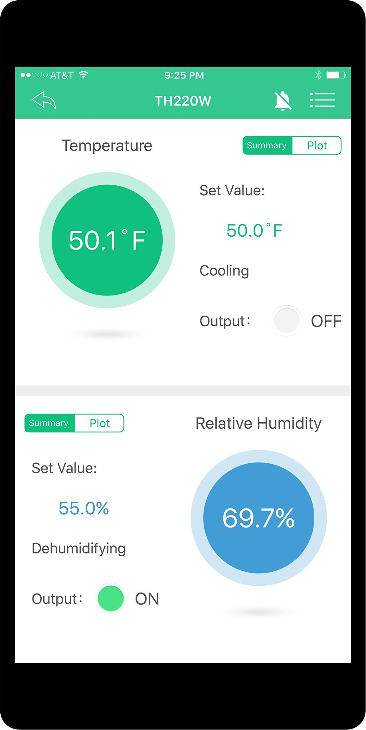 Wireless Wifi Temperature And Humidity Controller You Can Get