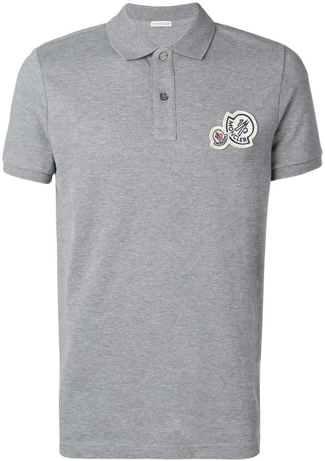 b84c676c3 Moncler logo polo shirt   Products   Moncler, Fashion, Womens_fashion