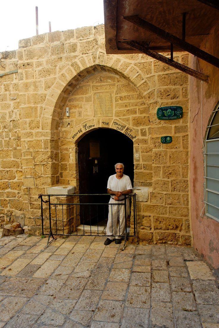 Casa De Simón El Curtidor En Jope Tierra De Israel La Tradición Cristiana Dice Que Aquí Fue La Visión De Pedro Por L Israel Palestine Jerusalem Israel Israel