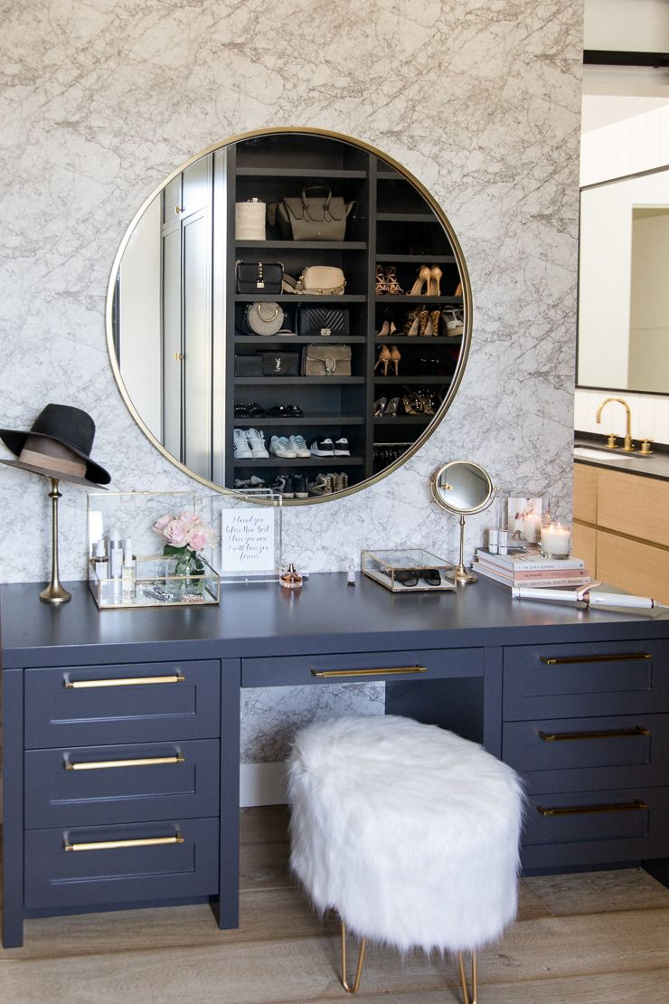 Honeybee Home: My Makeup Vanity - Andee Layne