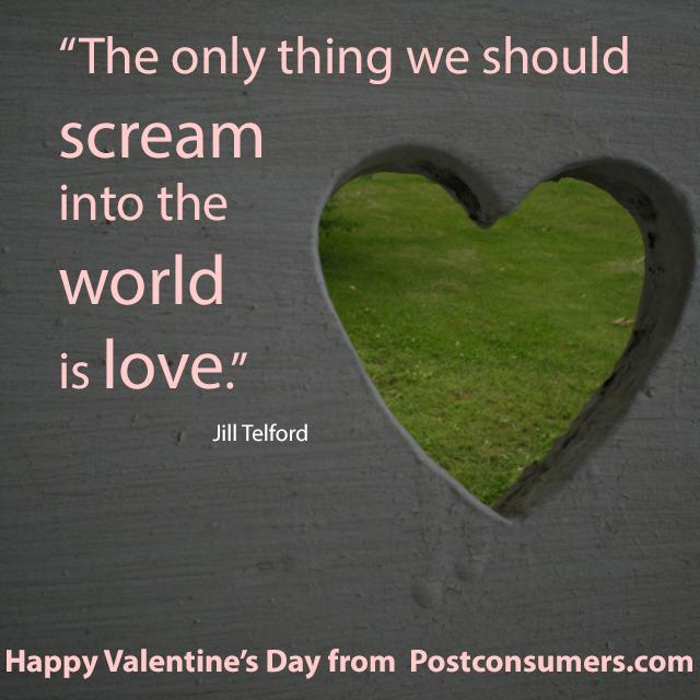 Favorite Valentine Quotes: Scream Love