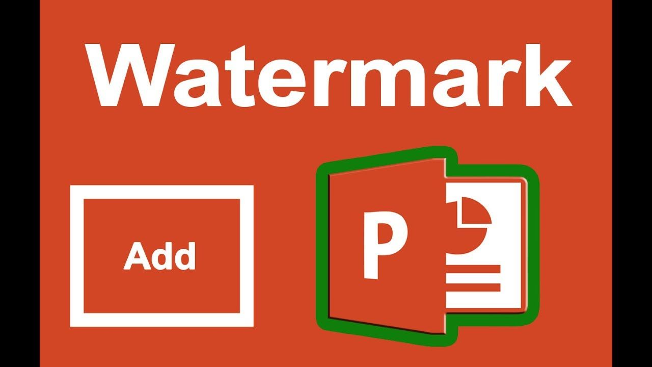Ppt tutorial how to add watermark in microsoft powerpoint slide ppt tutorial how to add watermark in microsoft powerpoint slide 2017 baditri Image collections
