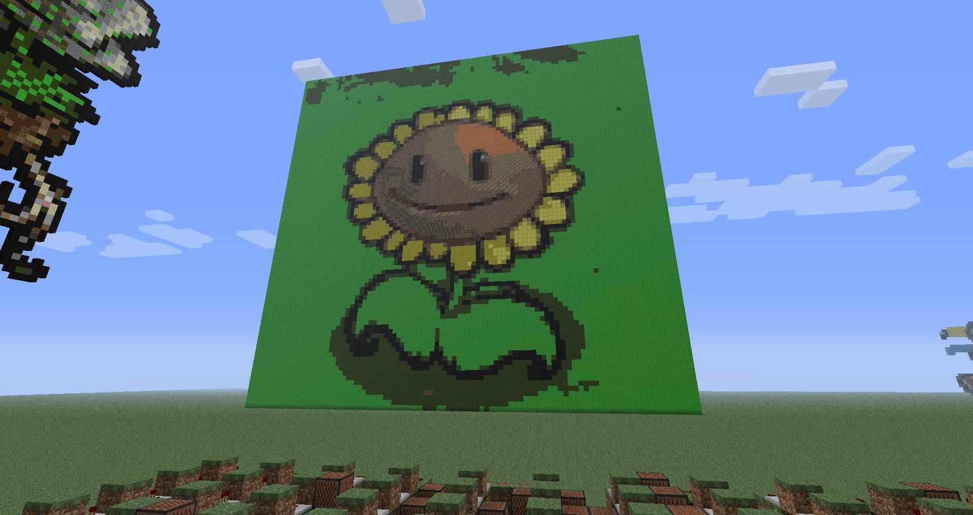Plants Vs Zombies on Minecraft Note Blocks (Roof theme