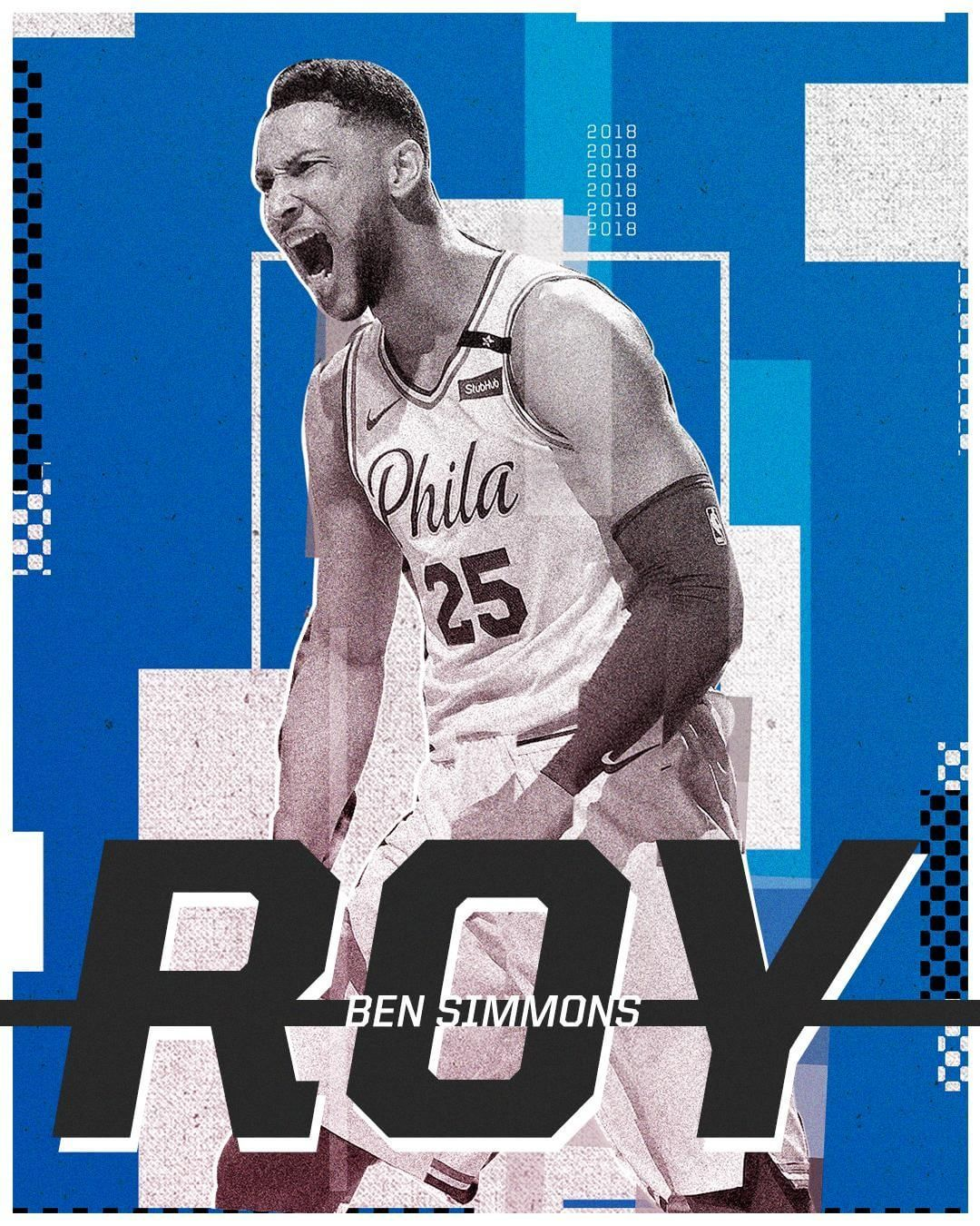 Rookie Of The Year Noun Ben Simmons Rookie of the year poster