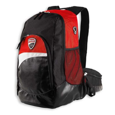 Ducati Corse 12 Backpack Carry Your Belongings In Style Off And On Your Favorite Ducati Ducati Ducati Accessories Backpacks