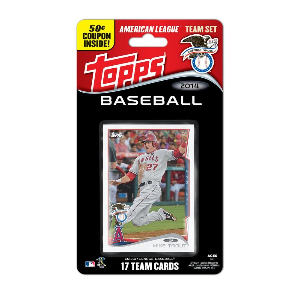 2014 topps mlb sets american league all stars american