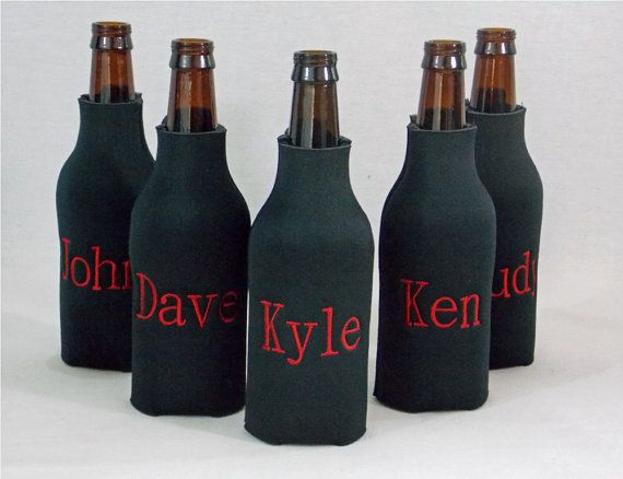 Personalized Long Neck Beer Bottle Koozie by SassyThighs on Etsy