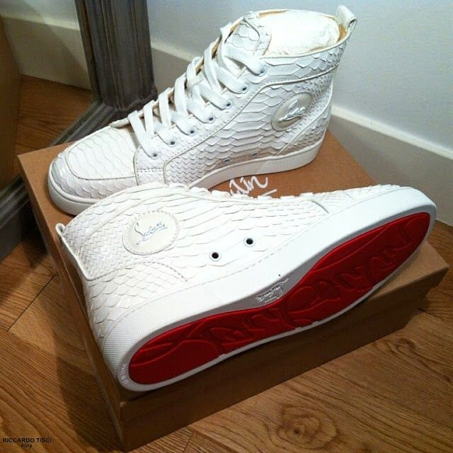 a74fe9d897f Pin by Kym B on Mens Gear | Louboutin shoes mens, White louboutin ...