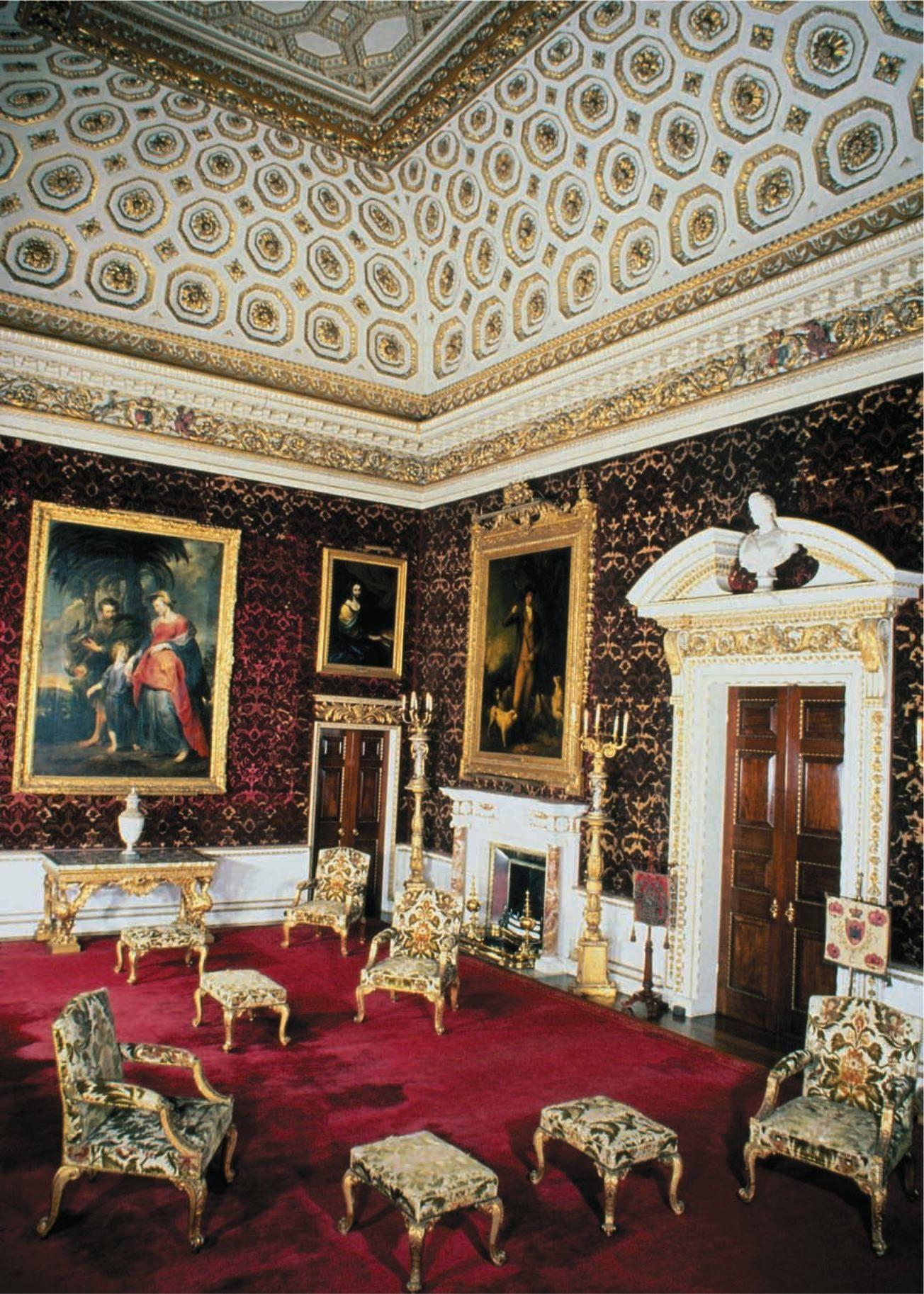 Holkam hall saloon begun 1734 norfolk england william kent