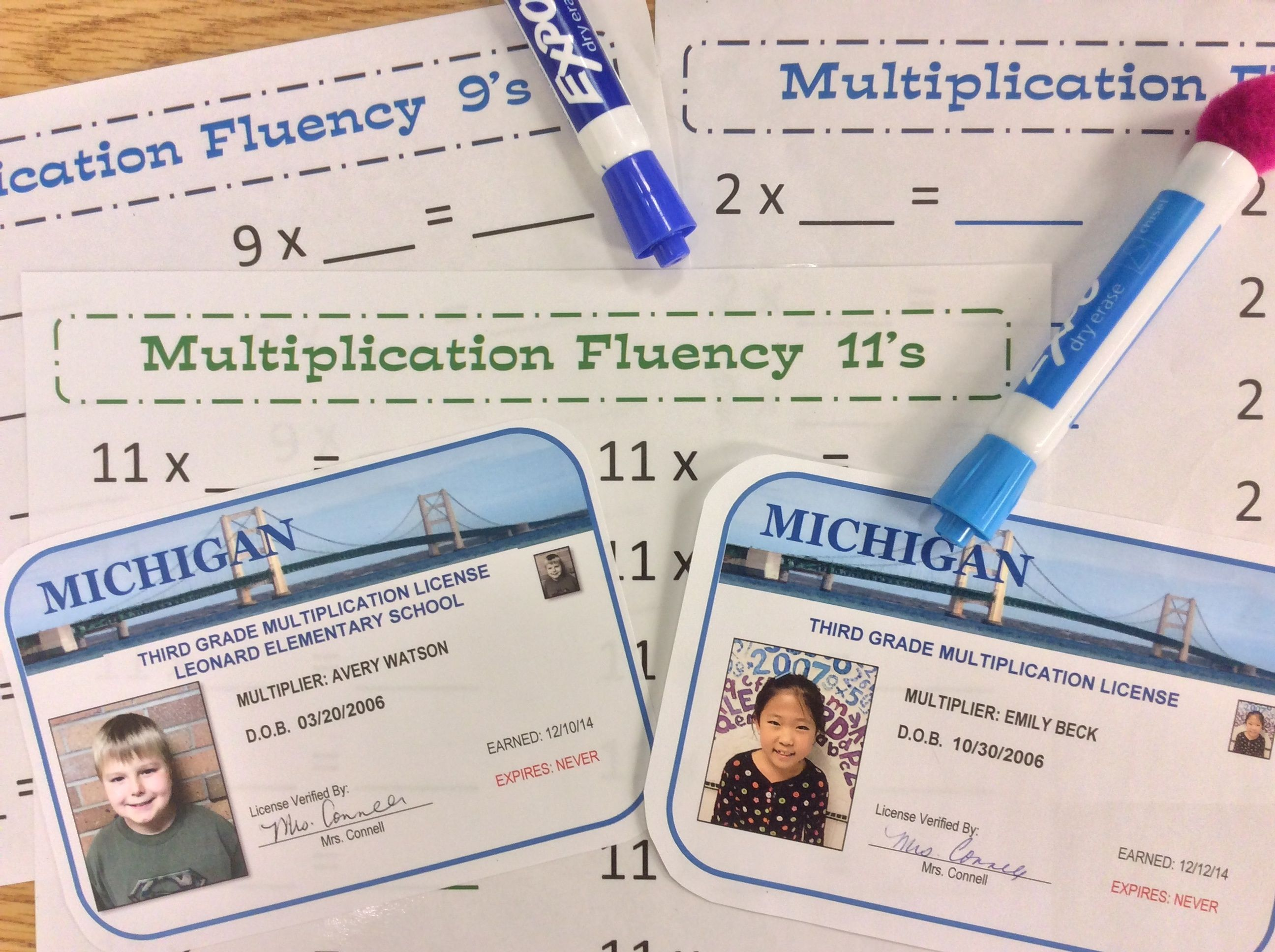 Multiplication Fluency In Minutes A Day Ani See Files