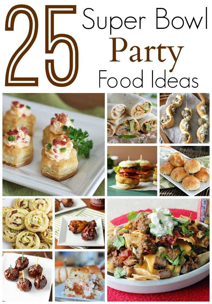 25 Super Bowl Party Food Ideas Easy Recipes For The Big Game Or Any