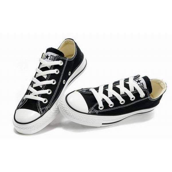 classic black converse shoes