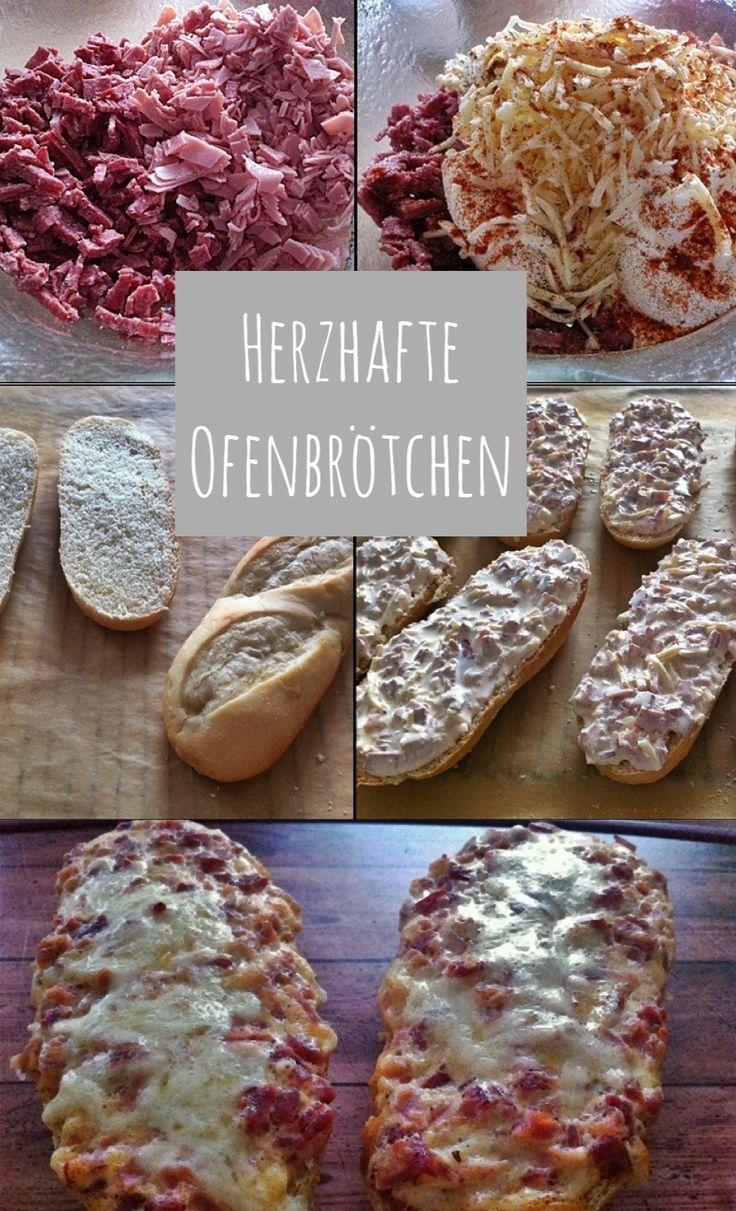 Herzhafte Ofen-Brötchen - Kochen | Snacks und Fingerfood -