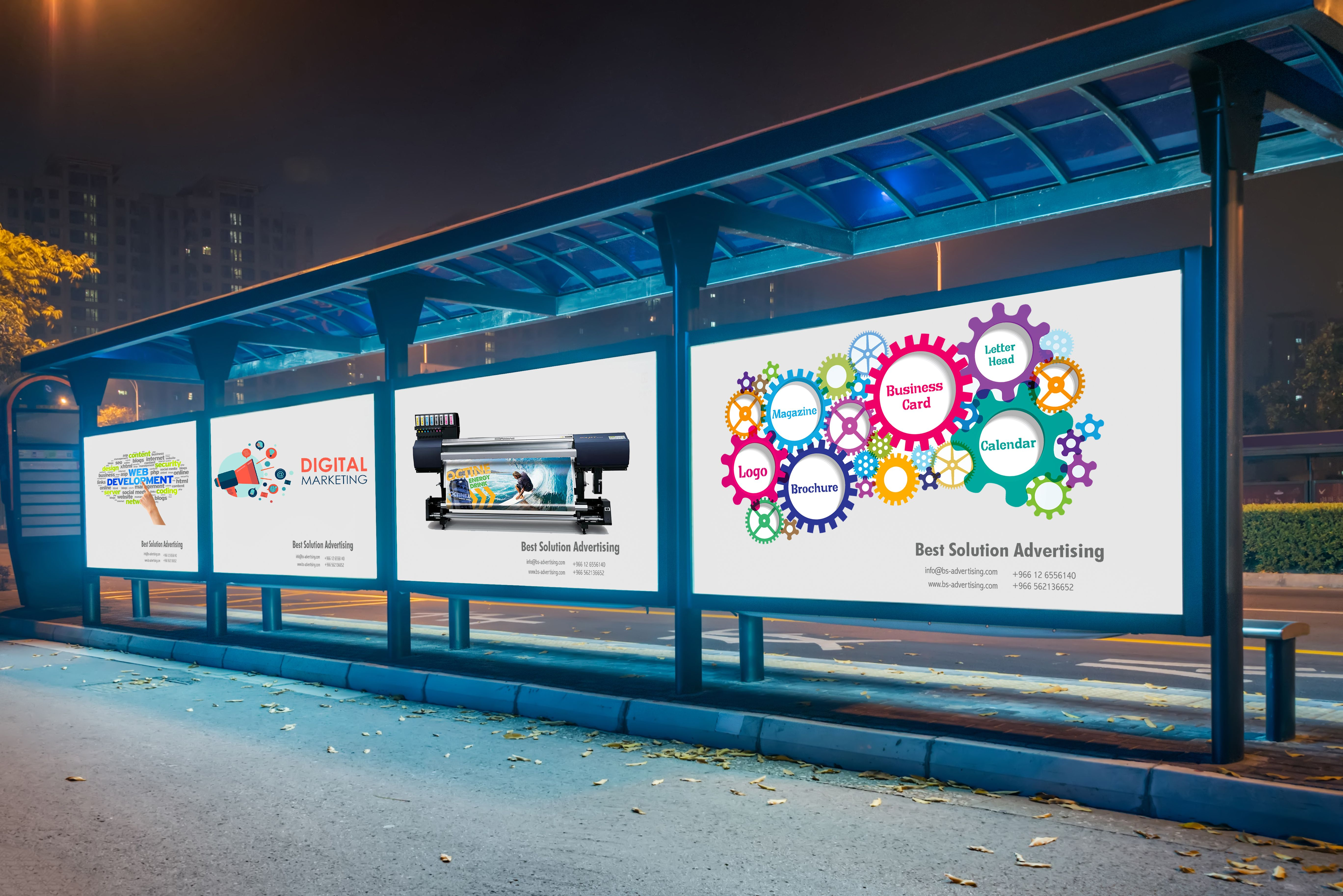 Billboard Hoarding Printing And Installation Services In Jeddah Advertising Services Outdoor Advertising Jeddah