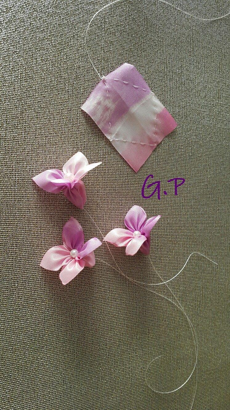 Artesanato em geral #ribbonflower