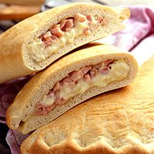 Weight Watchers Ham and Cheese Calzone  Serving Size: 1/3 Calzone  Points Plus Value: 8