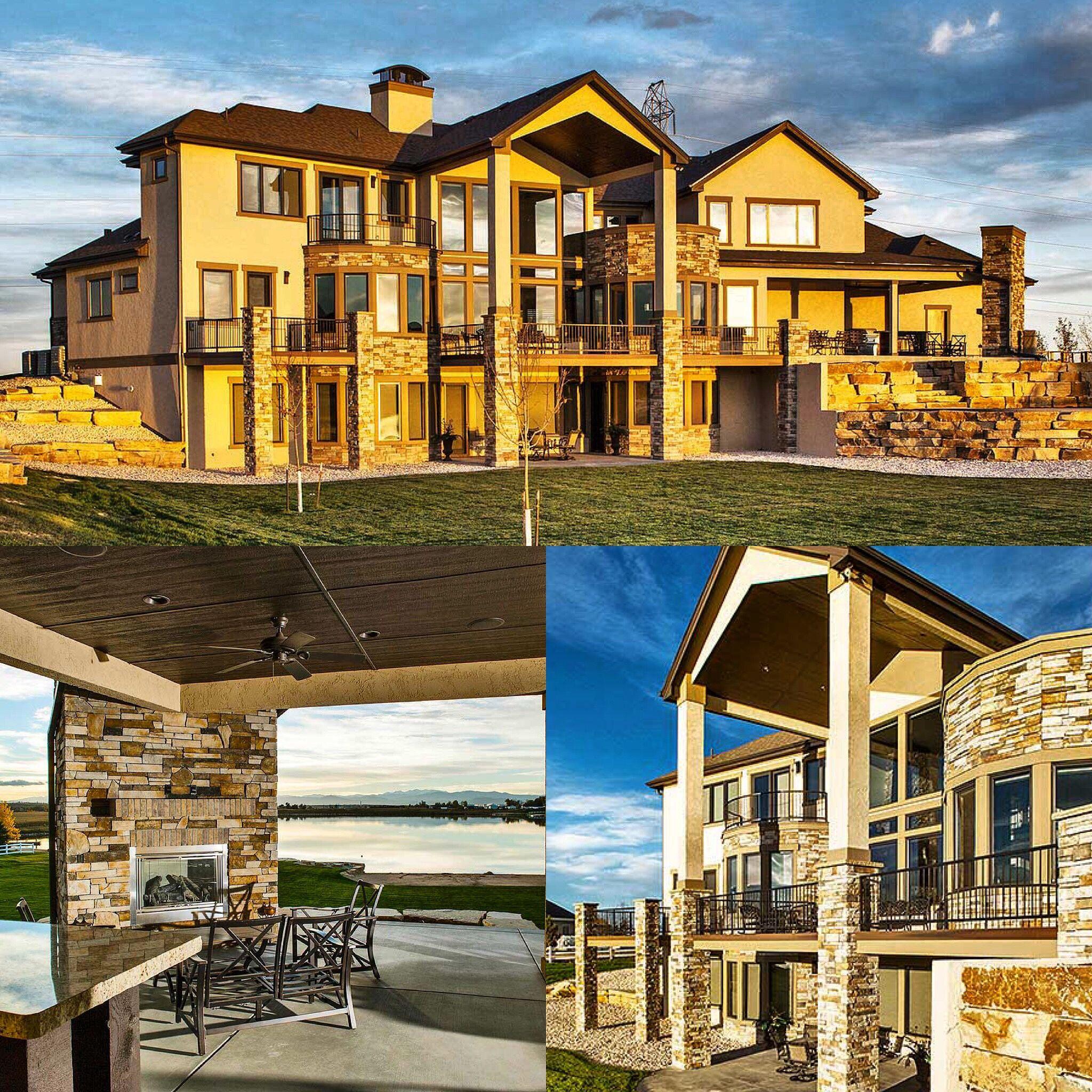 Luxury Lake Homes On Mountain: Plan 95022RW: Eye-Catching Mountain Home With Optional
