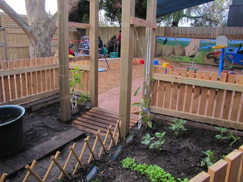 """""""Sunrise day care and kindergarten"""" - Irresistible ideas for play-based learning.  Beautiful use of a natural environment in a relatively small area.  Originally Pinned by Alec Duncan of http://childsplaymusic.com.au/"""