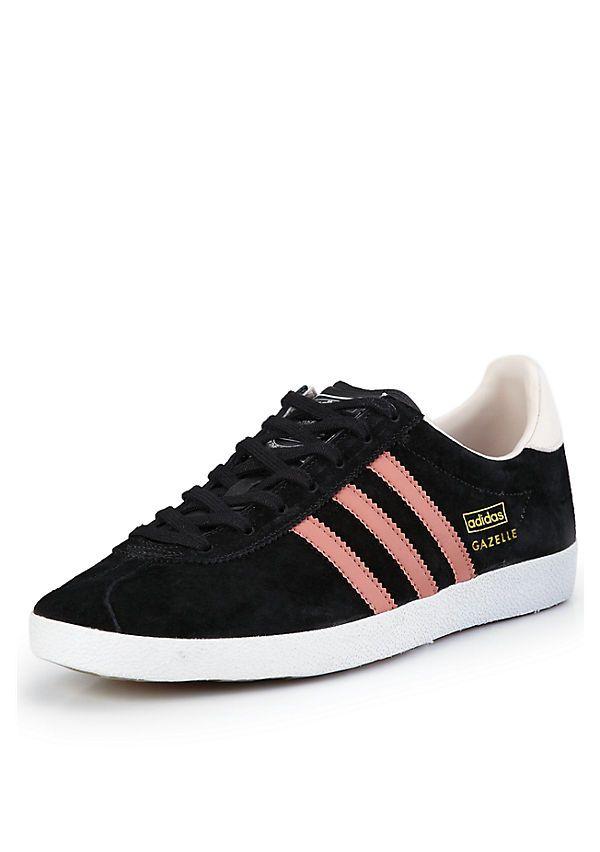 adidas trainers womens gazelle og navy pink nz