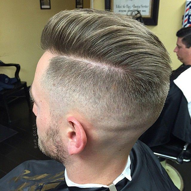 mrokil:  High Fade | Skin Fade     #barberlife #barbershop #DTLA #boltbarbers #combovercrooks #LAbarber #mensgrooming #menstylehair #highfade #skinfade #barberswag #freshcut #MrOKil  (at BOLT Barbers)
