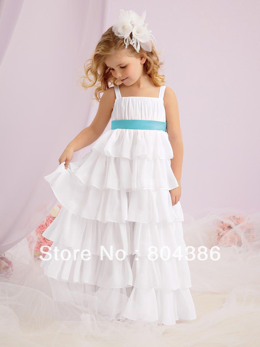 Vestidos de fiesta para ninas blancos