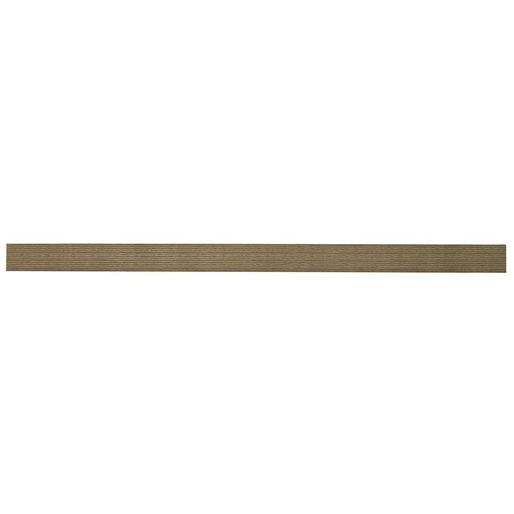 36 Inch W X 10 2 Inch D X 1 97 Inch H Floating Shelf In Grey Oak Wall Mounted Shelves Grey Oak Floating Shelves
